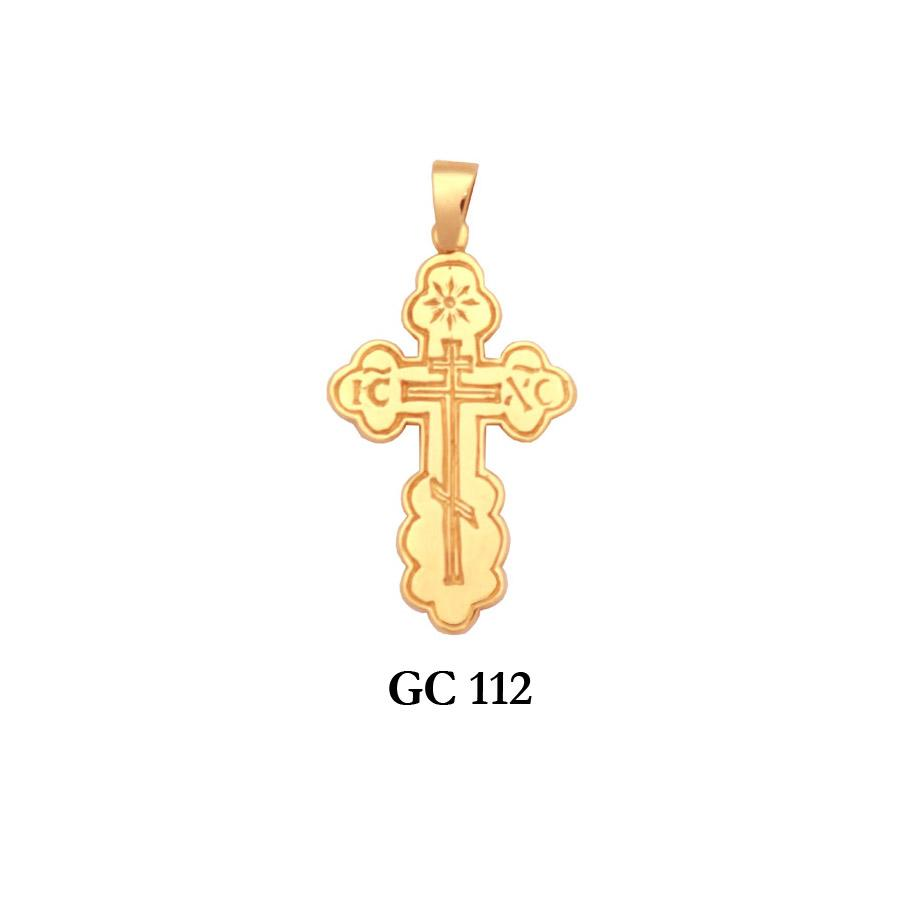 Details about  /14k 14kt Yellow Gold Eastern Orthodox Cross Pendant 34 mm X 14 mm
