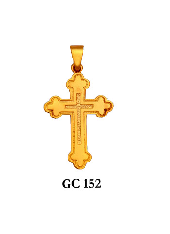 Gold Crosses Styles