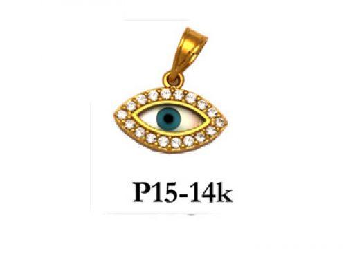 Evil Eye Style Necklaces